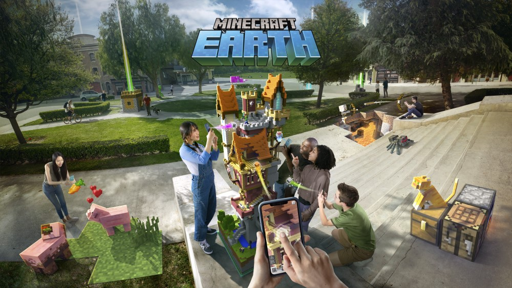 マインクラフトの完全新作ARゲーム『Minecraft Earth』発表!