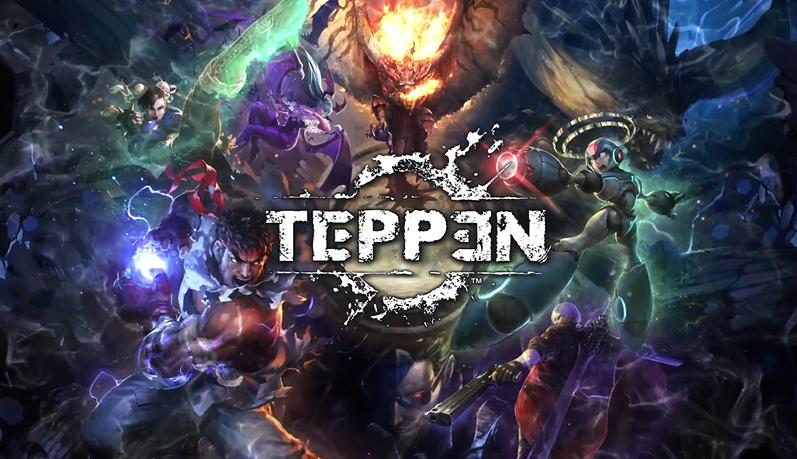 カプコンの有名キャラが多数登場するリアルタイム&ターン制カードゲーム「TEPPEN」発表!