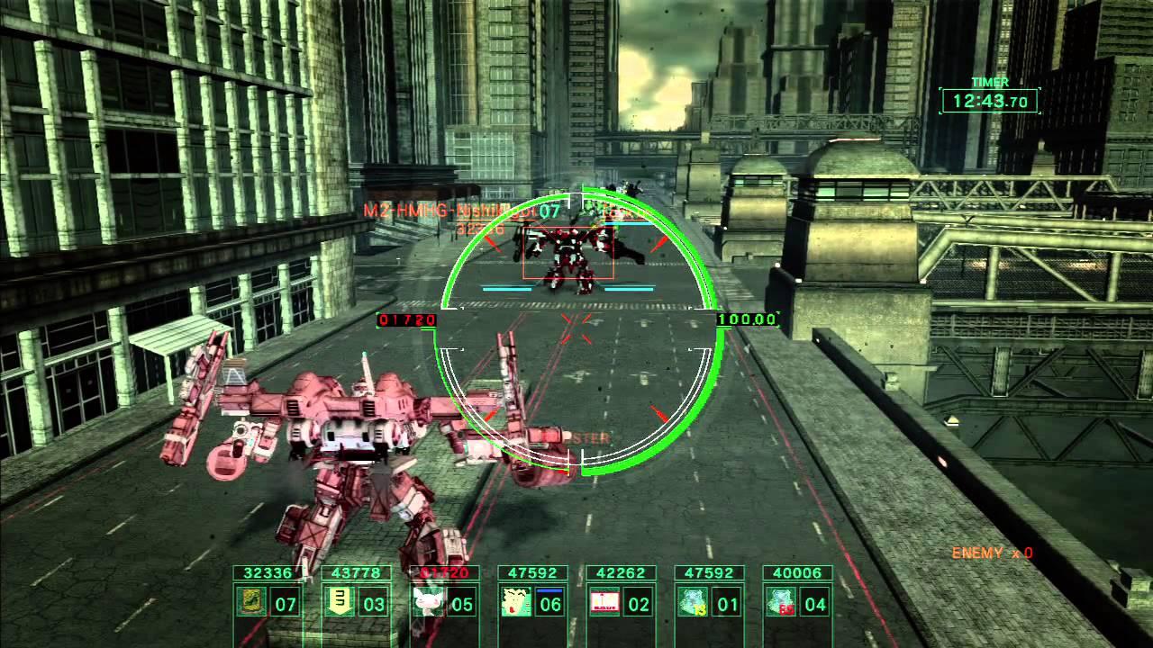 アーマードコアスタッフ「超高速戦闘の4系がウケたな。せや!5では重厚で泥臭い市街戦させたろ!」