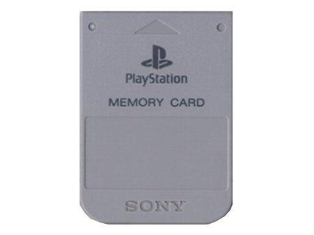 【悲報】PS1のメモリーカード、容量が少なすぎる