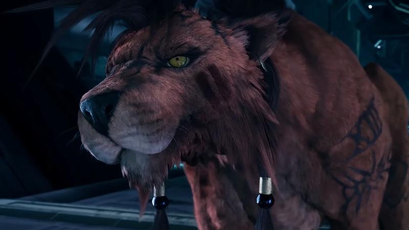 【悲報】FF7リメイクのレッドXIII、ビビって何もしない犬になる