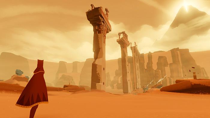 『風ノ旅ビト』ってゲームPS4で無料配信されたから始めたんやけど