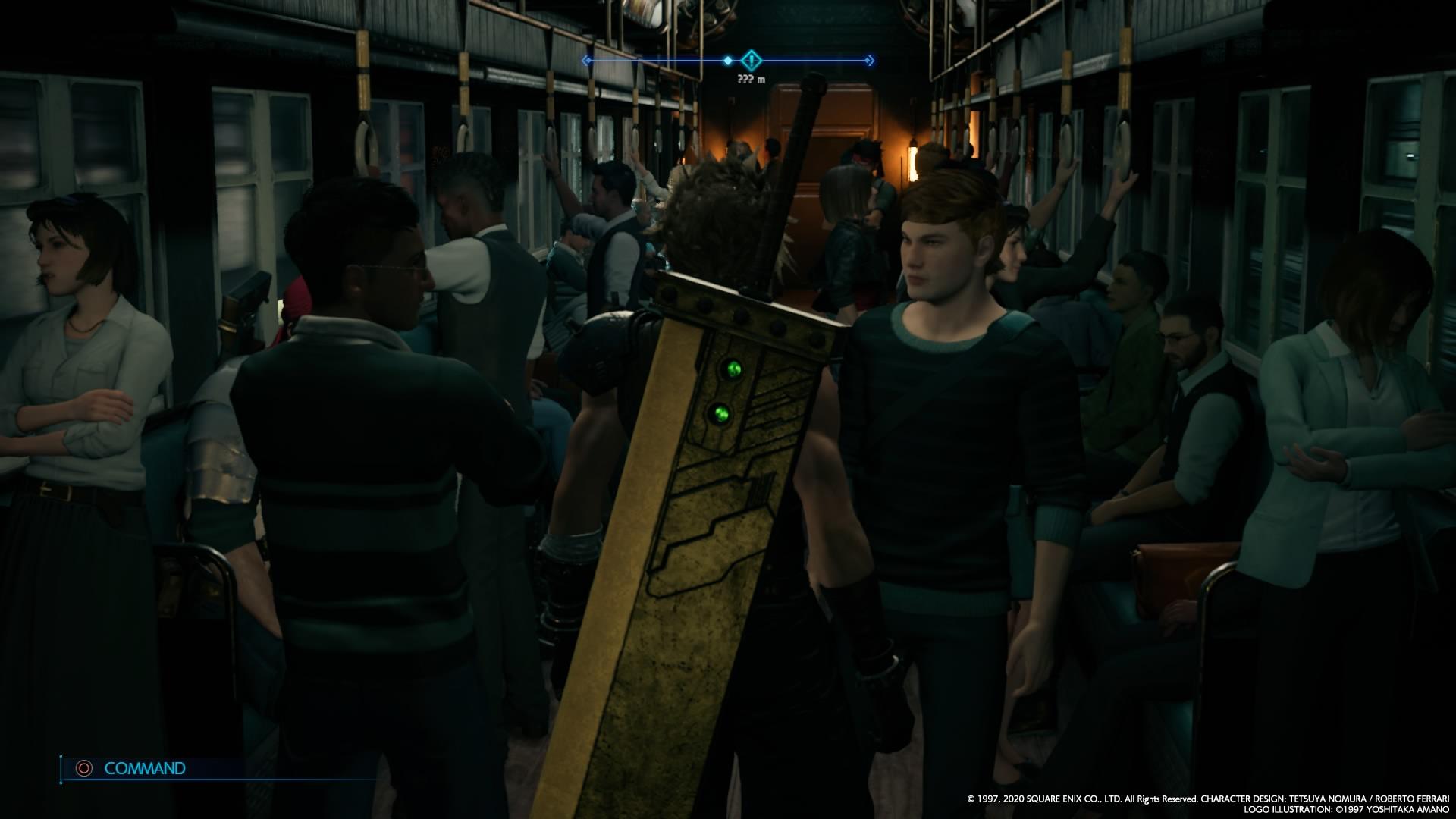 【FF7】クラウドの大剣ってどうやって背中にくっついてるの