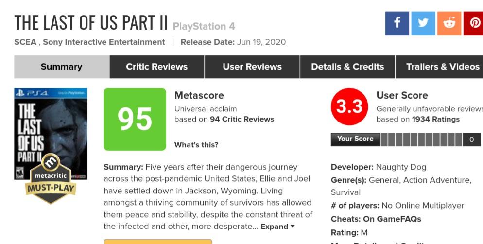 レビューサイト『Metacritic』が仕様を変更!ゲーム発売から36時間はレビュー不可に