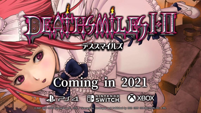 【朗報】『デススマイルズI・II』が2021年にSwitch/PS4/Xboxで発売決定!