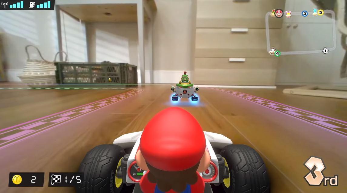 マリオカート新作『マリオカート ライブ ホームサーキット』、面白そう