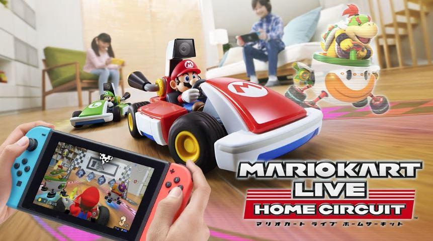 即日完売した『マリオカート ライブホームサーキット』が本日発売!ARの究極系ゲーム