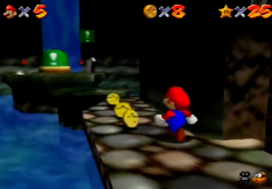 マリオ64「3つのスイッチはお城の中に隠されてるで~」ワイ「はえ~自力で探したろ!」