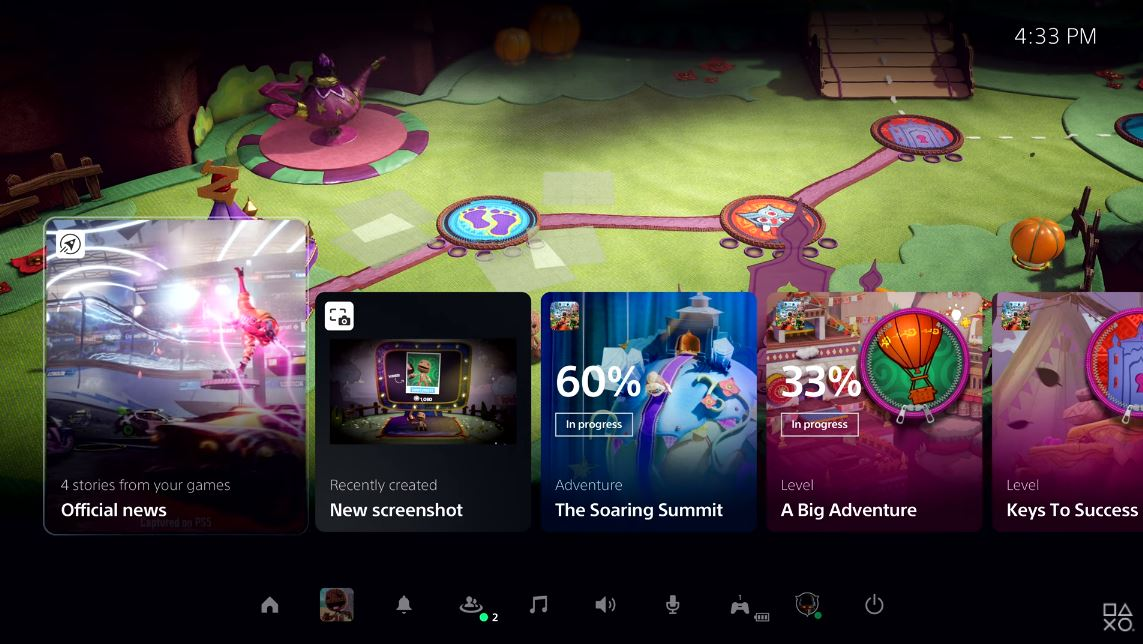 【動画】PS5のUIが世界初公開