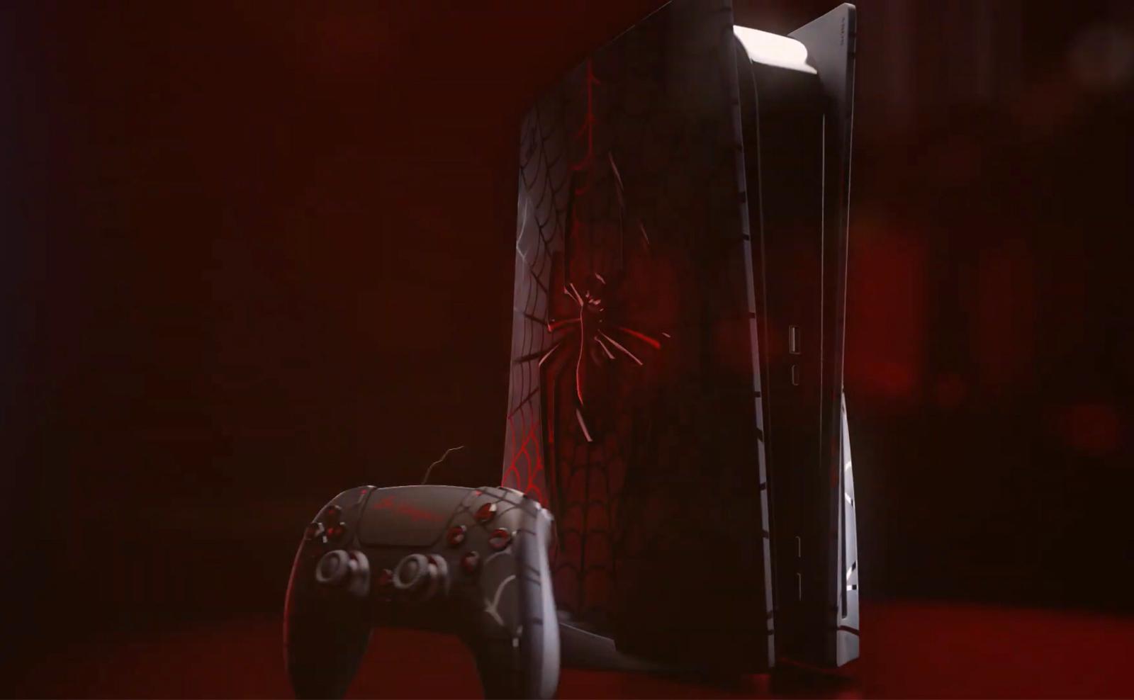 【画像】PS5スパイダーマンエディション、カッコ良すぎるwww