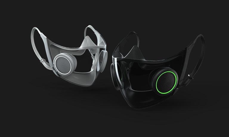 【画像】カッコいいゲーミングマスク(もちろん光る)が登場!