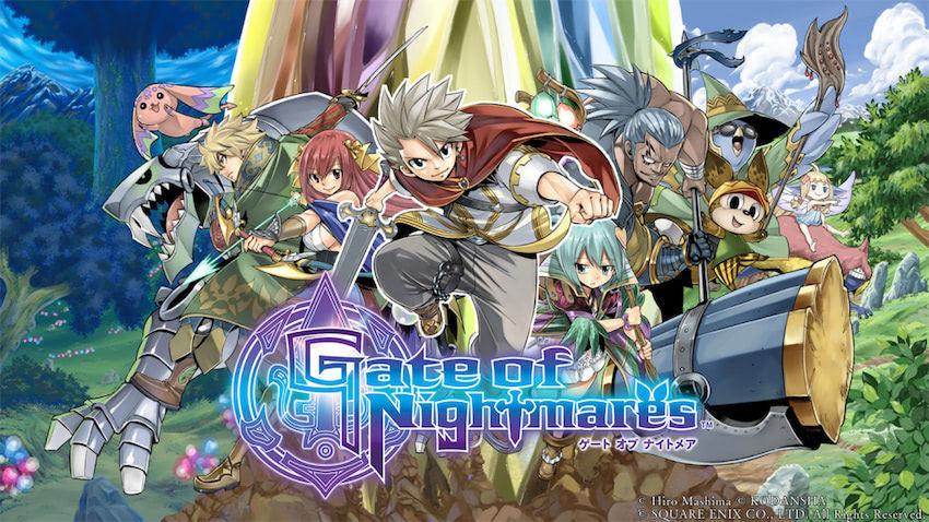 真島ヒロ氏×スクエニによる完全新作RPG『Gate of Nightmares』発表!