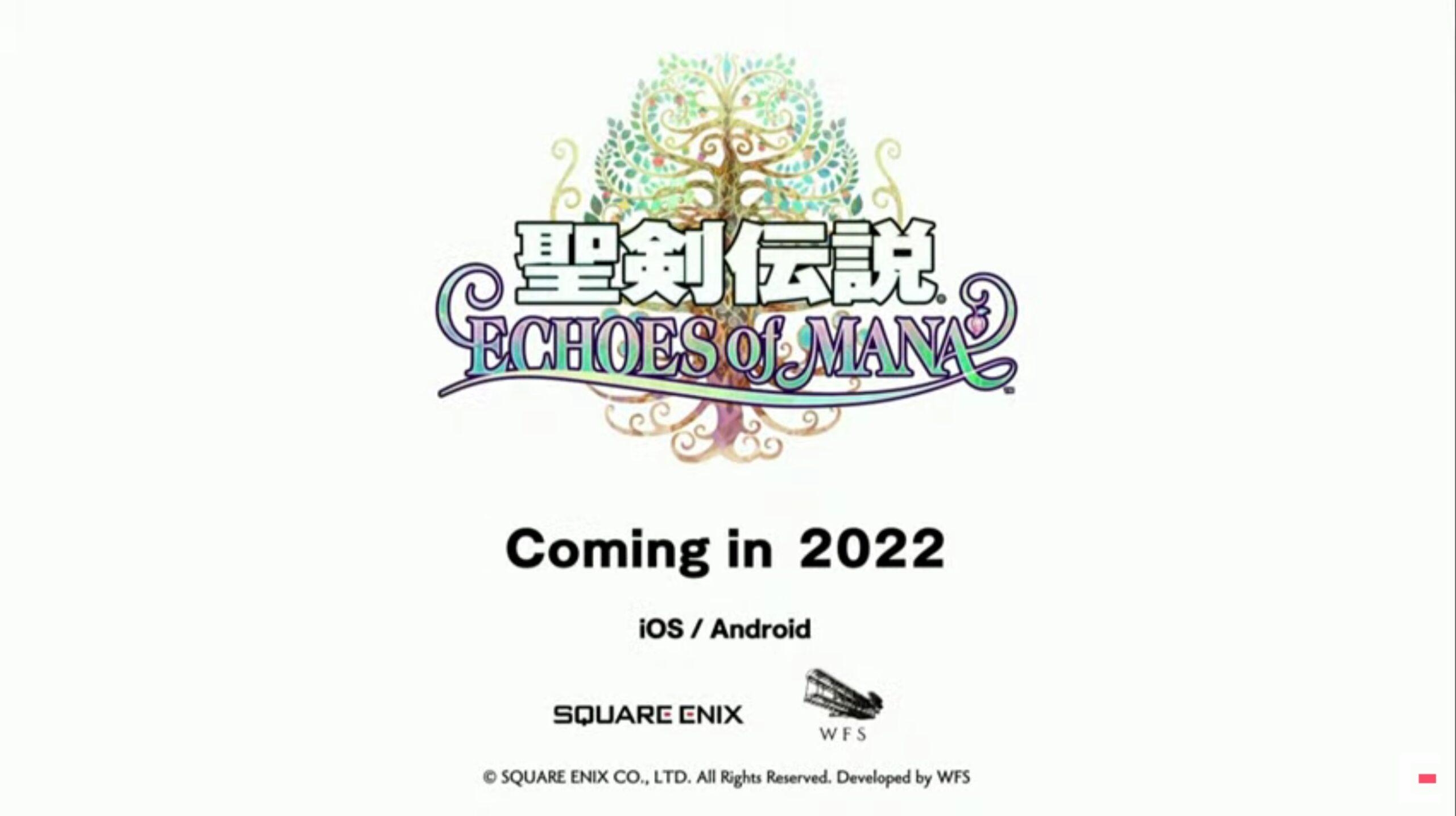 シリーズ新作『聖剣伝説 エコーズオブマナ』が2022年に配信決定!