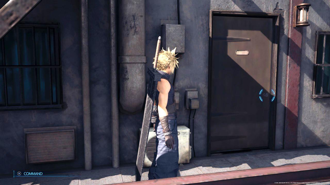 PS5版『FF7リメイク』なんとドアが大幅に進化する