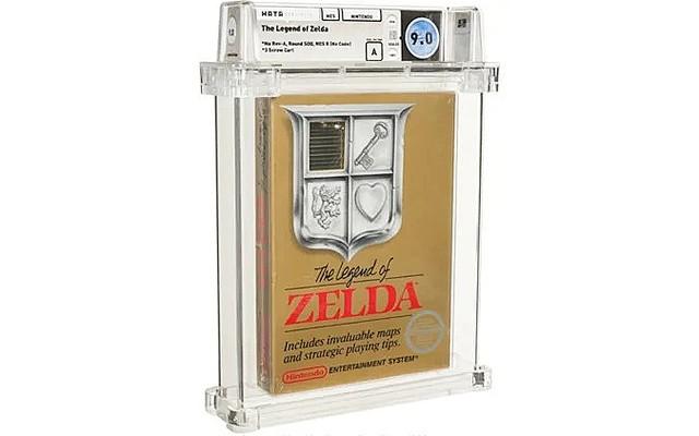 海外ファミコン版『ゼルダの伝説』、9600万円で落札される