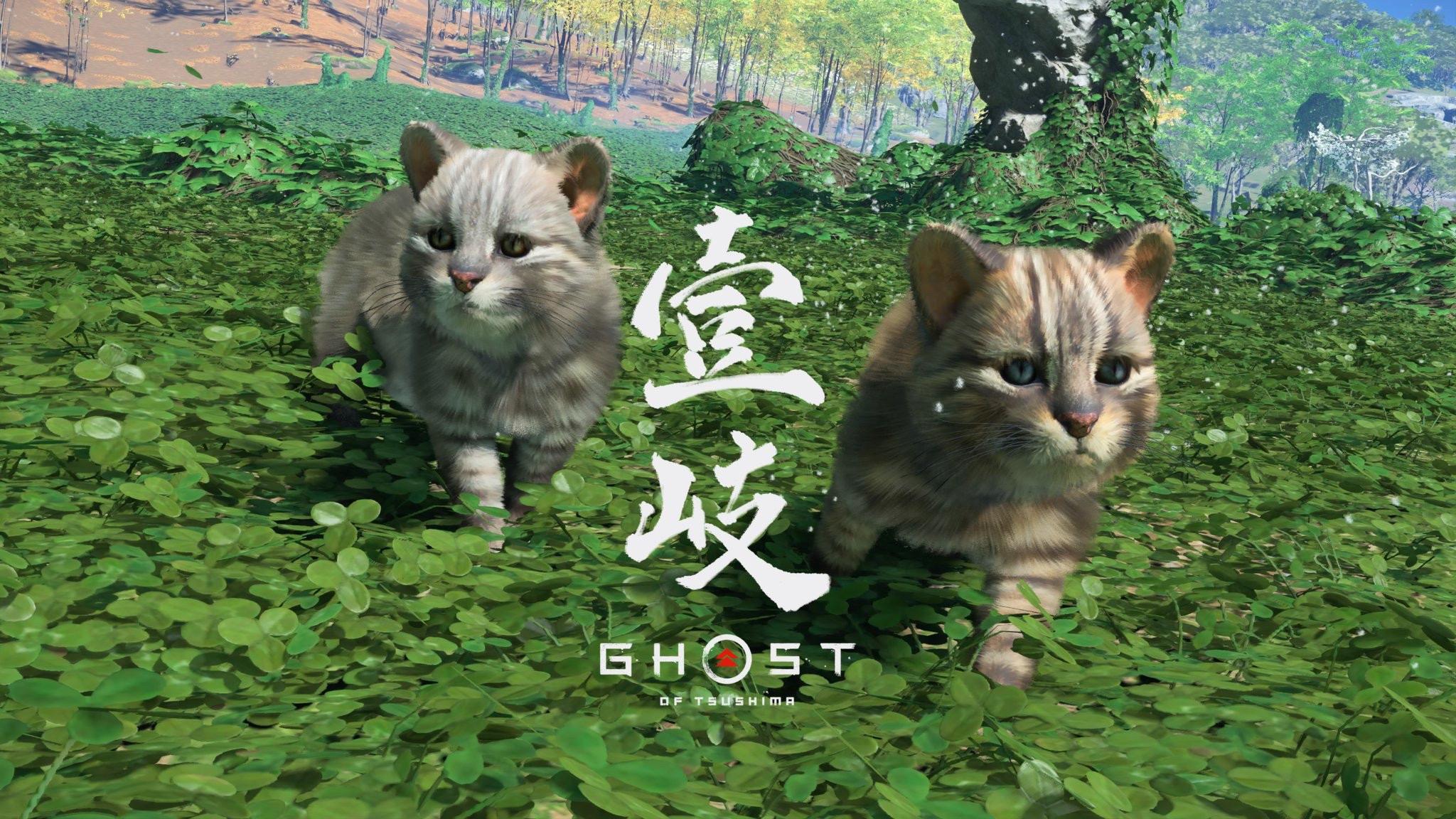 【画像】ゴーストオブツシマ、アップデートで可愛い猫を出してしまう