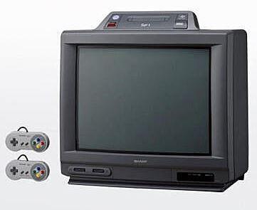 昔SFCとテレビが一体化してるの売ってたやん